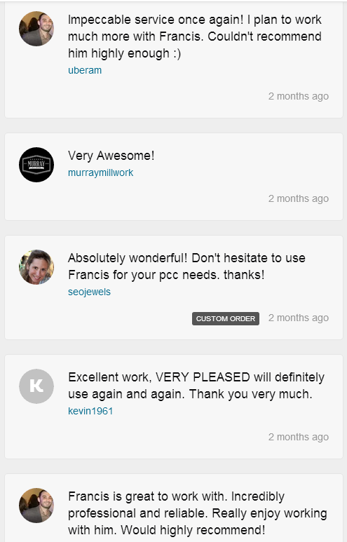 DifferentTestimonialsScreenCapture